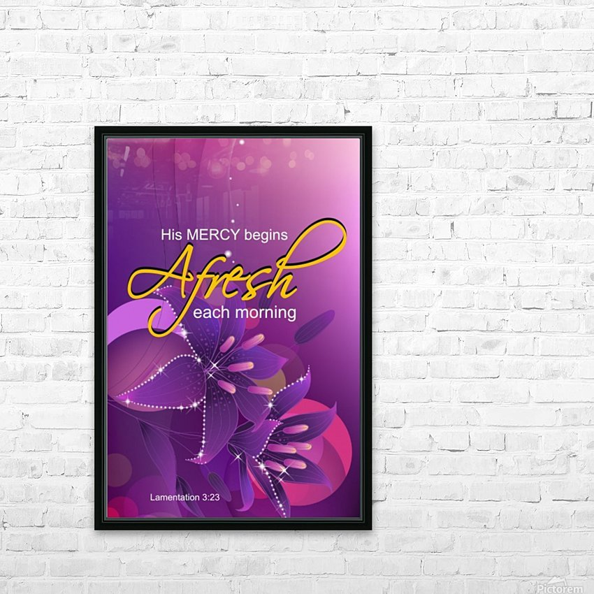 NEW MERCY EVERYDAY HD Sublimation Metal print with Decorating Float Frame (BOX)