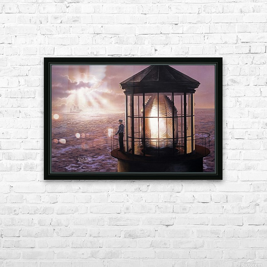 Another Safe Passage HD Sublimation Metal print with Decorating Float Frame (BOX)