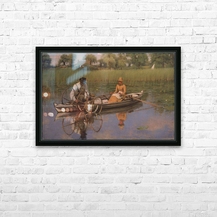 The Bow Net, 1886 HD Sublimation Metal print with Decorating Float Frame (BOX)