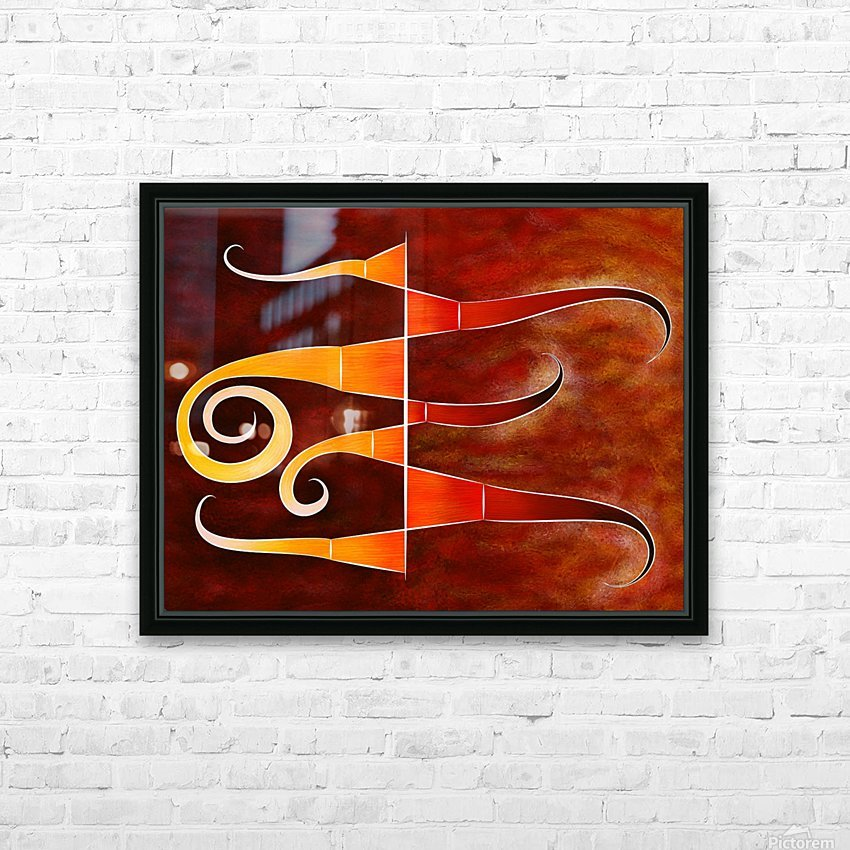 Cassanita sol - martian bird HD Sublimation Metal print with Decorating Float Frame (BOX)