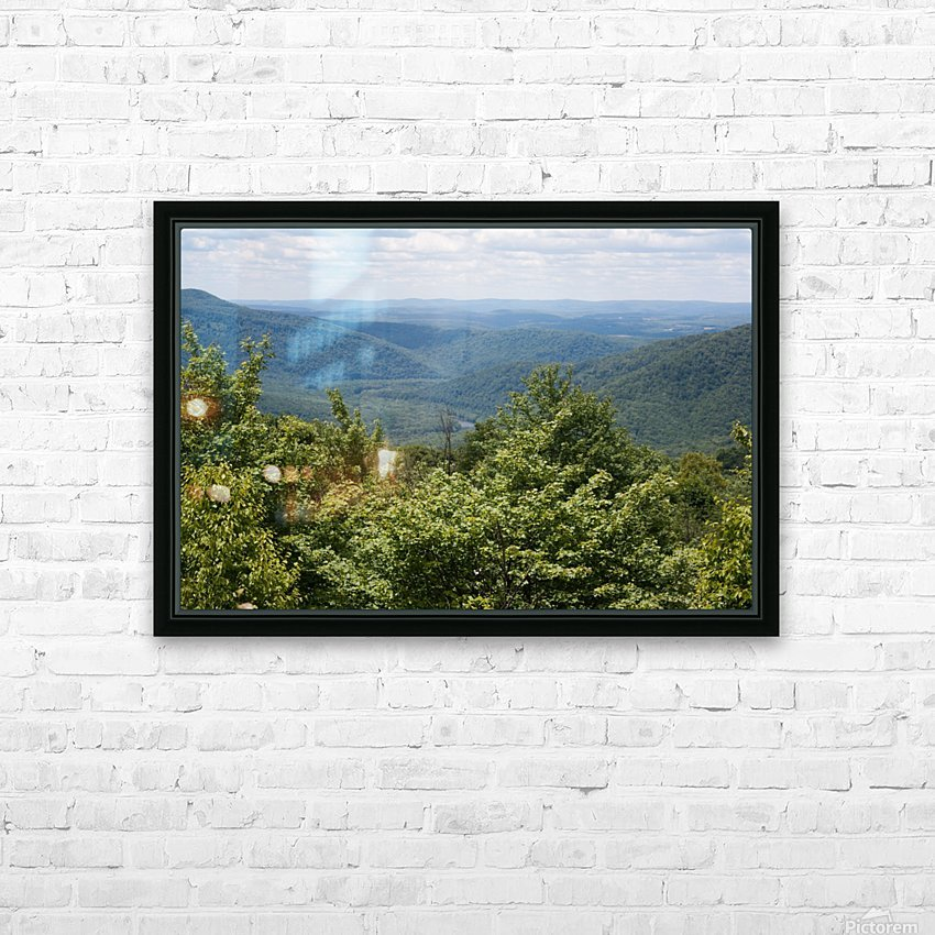 River Valley HD Sublimation Metal print with Decorating Float Frame (BOX)