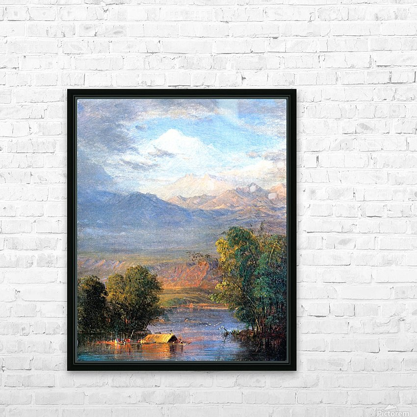 The Magdalena River Equador HD Sublimation Metal print with Decorating Float Frame (BOX)