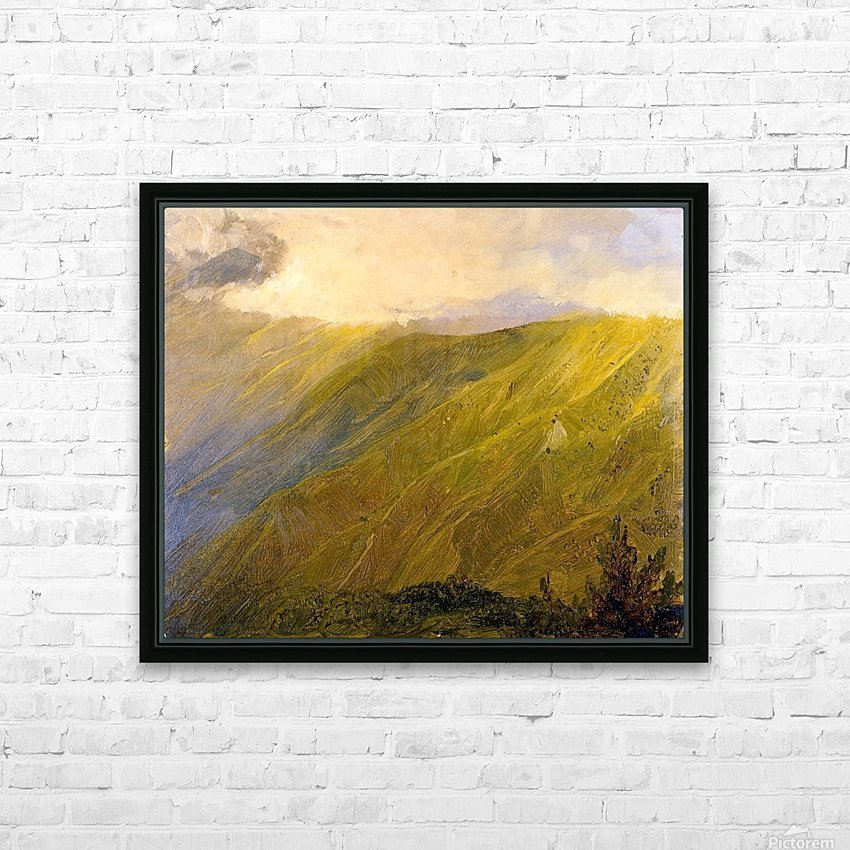 Sky at Sunset, Jamaica HD Sublimation Metal print with Decorating Float Frame (BOX)