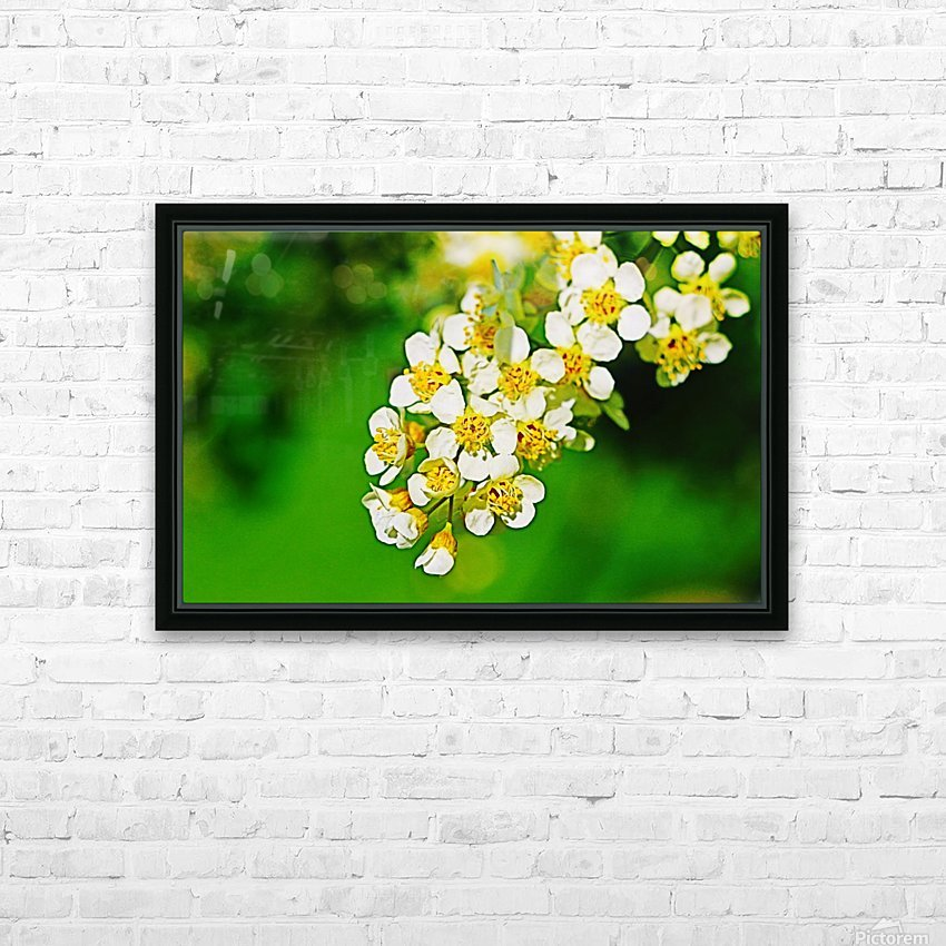 Springtime HD Sublimation Metal print with Decorating Float Frame (BOX)