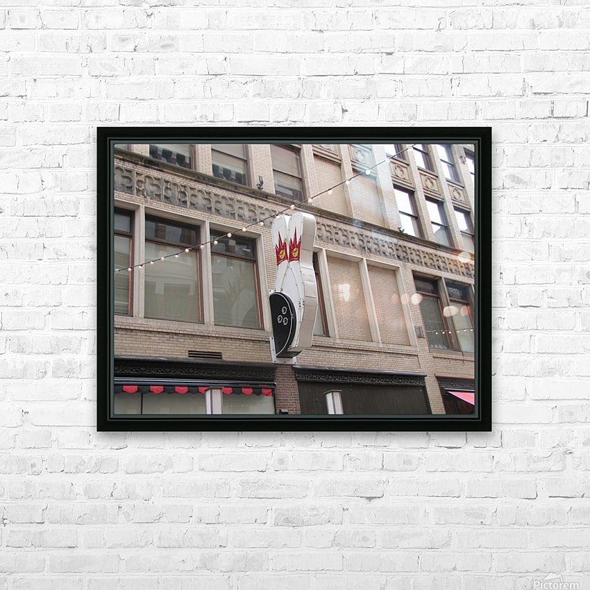 Cleveland HD Sublimation Metal print with Decorating Float Frame (BOX)