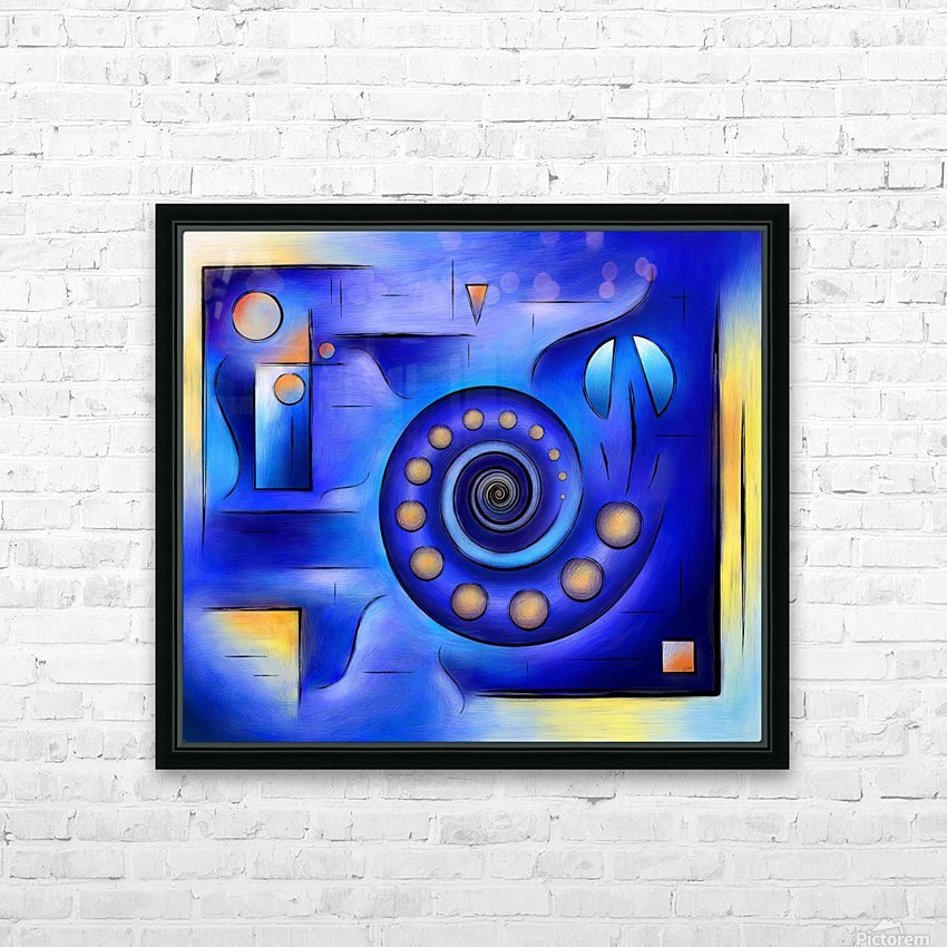 Grefenissa V1 - space art HD Sublimation Metal print with Decorating Float Frame (BOX)