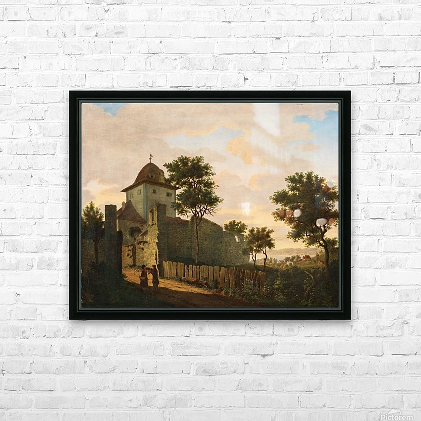 Stadtturm in Uberlingen HD Sublimation Metal print with Decorating Float Frame (BOX)