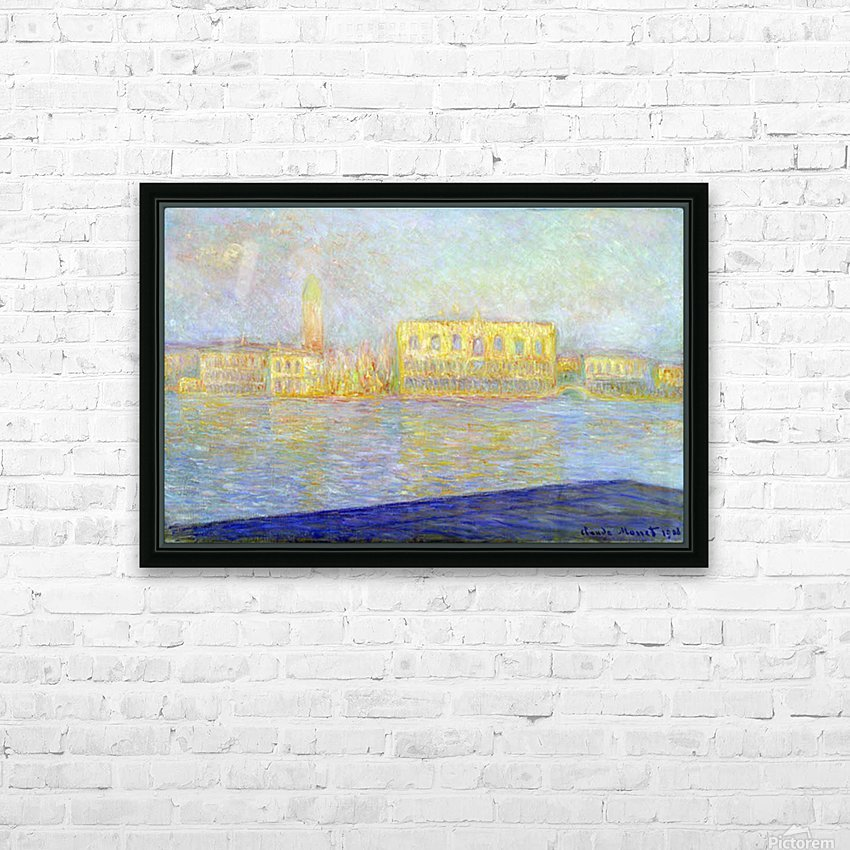 Monet HD Sublimation Metal print with Decorating Float Frame (BOX)