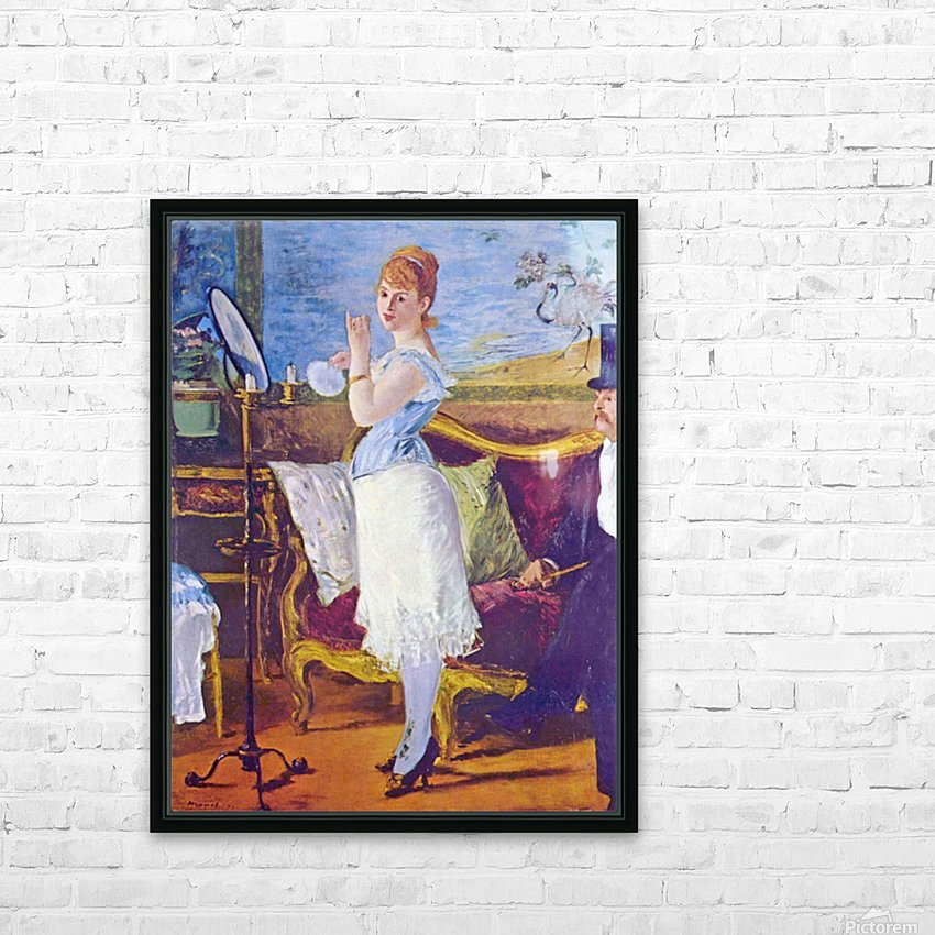 Nana by Manet HD Sublimation Metal print with Decorating Float Frame (BOX)