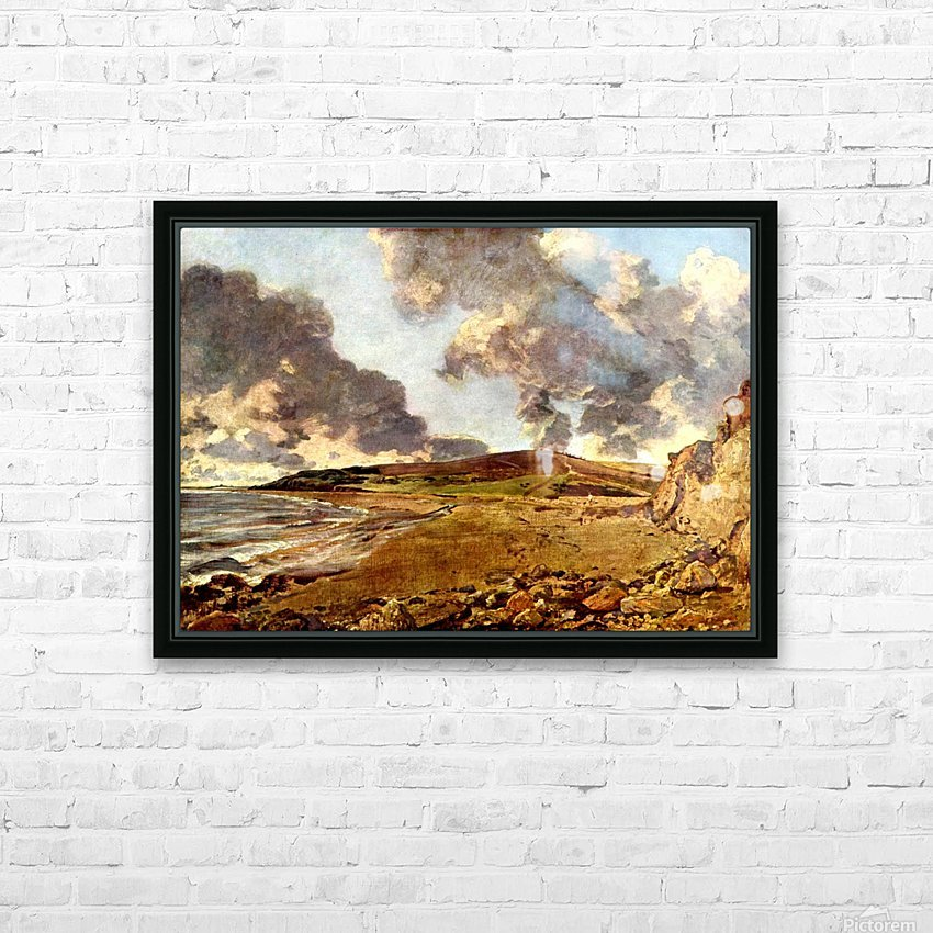 Weymouth Bay, 1816 HD Sublimation Metal print with Decorating Float Frame (BOX)
