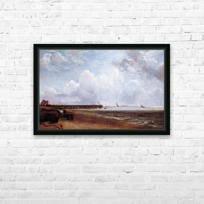 Yarmouth Jetty HD Sublimation Metal print with Decorating Float Frame (BOX)