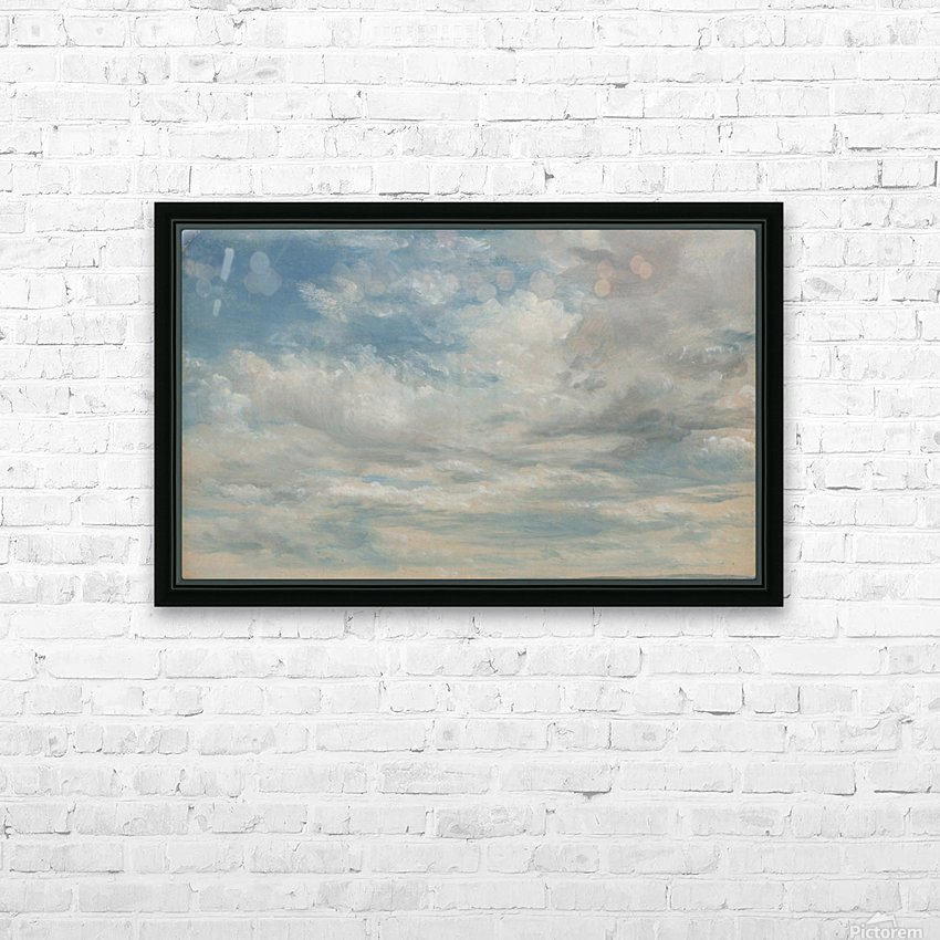 Clouds 1822 HD Sublimation Metal print with Decorating Float Frame (BOX)