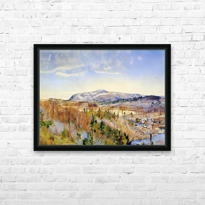 Mt. Everett from Monument Mountain HD Sublimation Metal print with Decorating Float Frame (BOX)