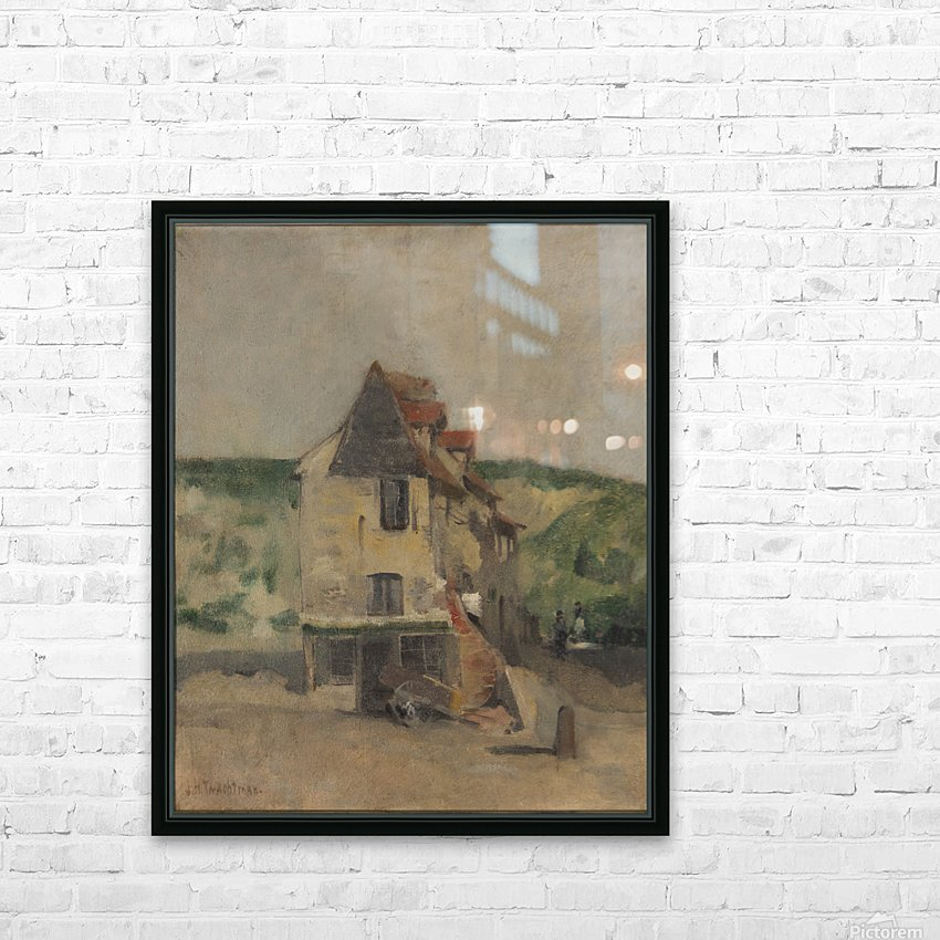 A farmhouse HD Sublimation Metal print with Decorating Float Frame (BOX)