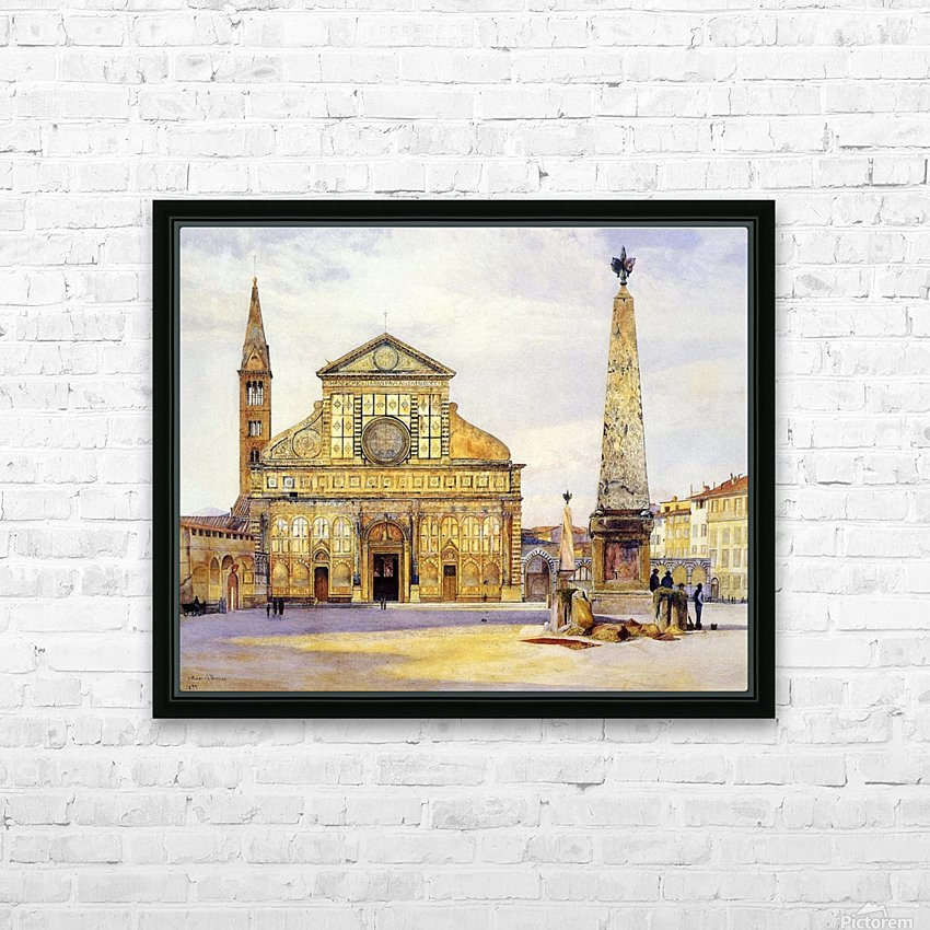 The main square HD Sublimation Metal print with Decorating Float Frame (BOX)