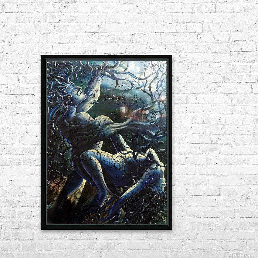 THE DANCE OF LOVE BY TREES HD Sublimation Metal print with Decorating Float Frame (BOX)
