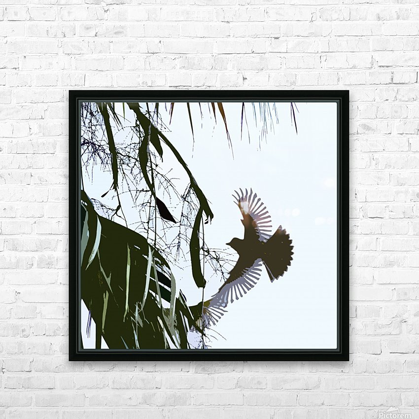 Orioles Abstract 2  HD Sublimation Metal print with Decorating Float Frame (BOX)