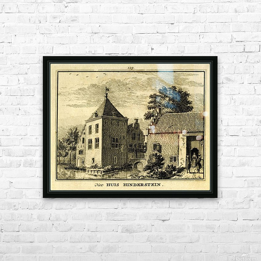 Huis Hinderstein HD Sublimation Metal print with Decorating Float Frame (BOX)