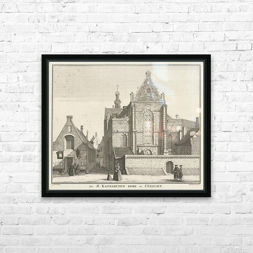 Katharynen Kerk HD Sublimation Metal print with Decorating Float Frame (BOX)