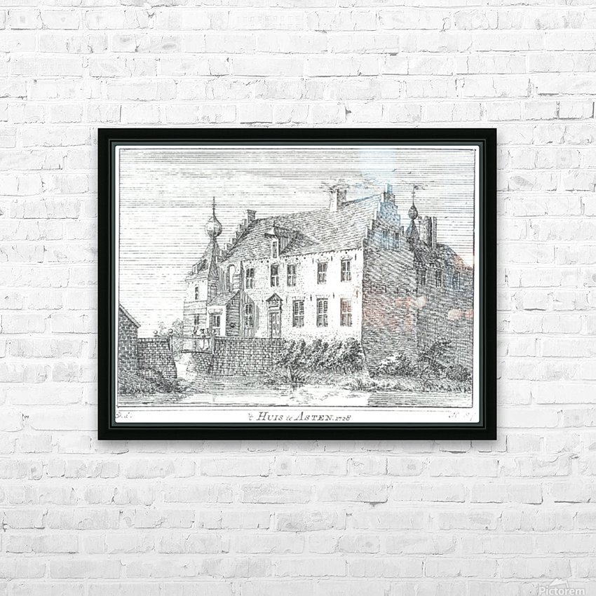 Huis te Asten HD Sublimation Metal print with Decorating Float Frame (BOX)