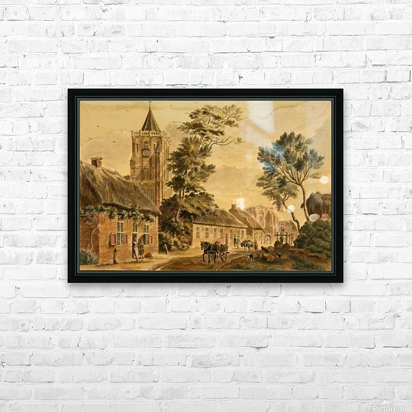 View of Sambeek HD Sublimation Metal print with Decorating Float Frame (BOX)