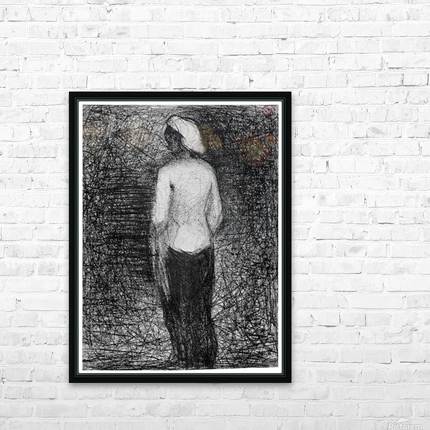 Artist by Seurat HD Sublimation Metal print with Decorating Float Frame (BOX)