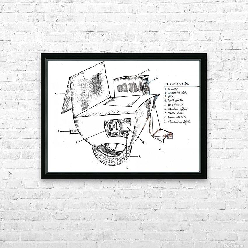 marletodiàno648 HD Sublimation Metal print with Decorating Float Frame (BOX)
