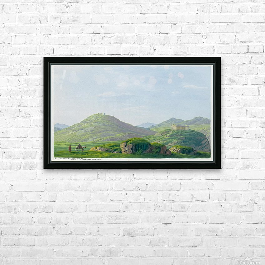 Segesta 1828 HD Sublimation Metal print with Decorating Float Frame (BOX)