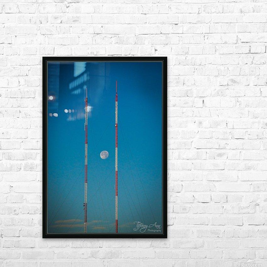 Chopsticks HD Sublimation Metal print with Decorating Float Frame (BOX)