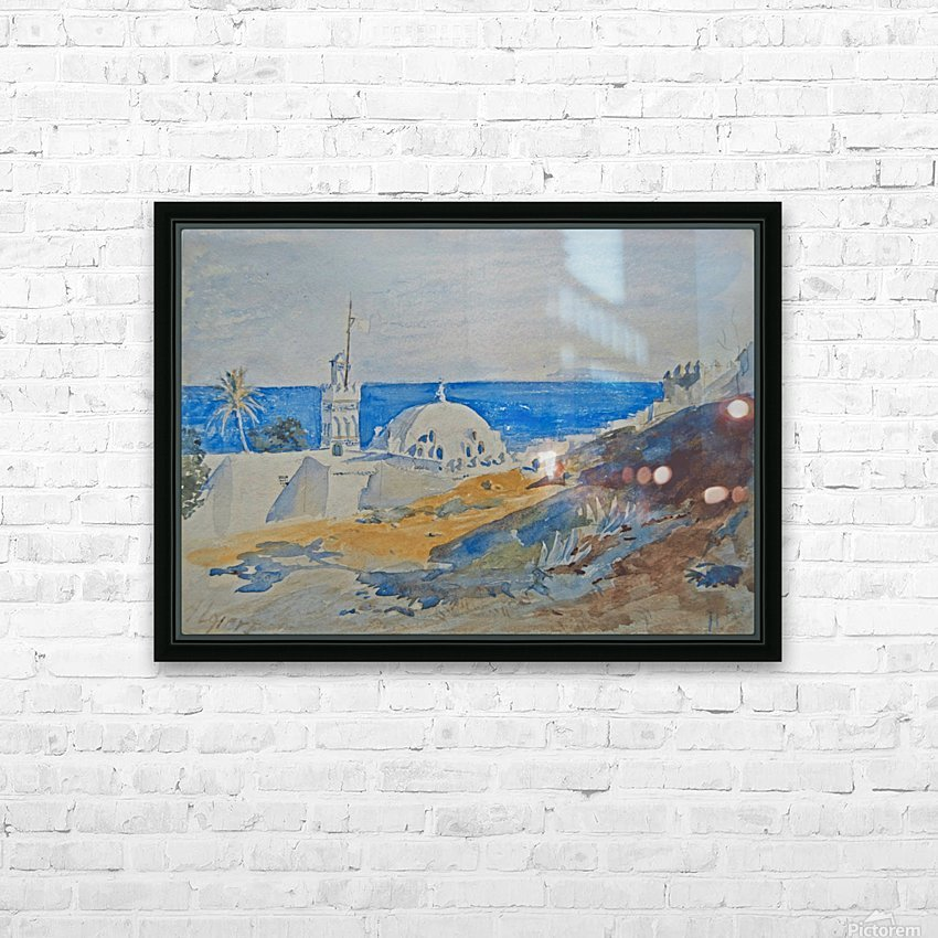 Algiers, Algeria HD Sublimation Metal print with Decorating Float Frame (BOX)
