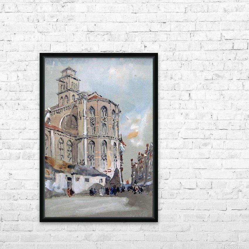 Church of Santa Maria Gloriosa de Frari, Venice HD Sublimation Metal print with Decorating Float Frame (BOX)
