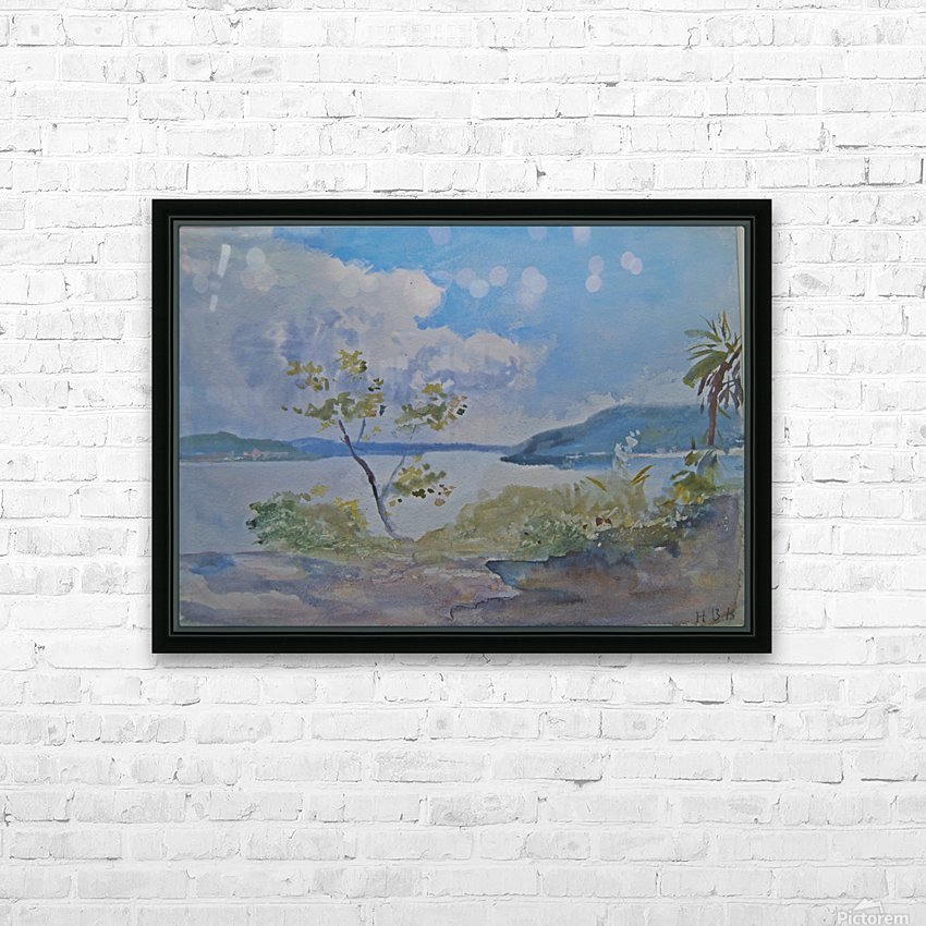 Lago Maggiore, Italy HD Sublimation Metal print with Decorating Float Frame (BOX)