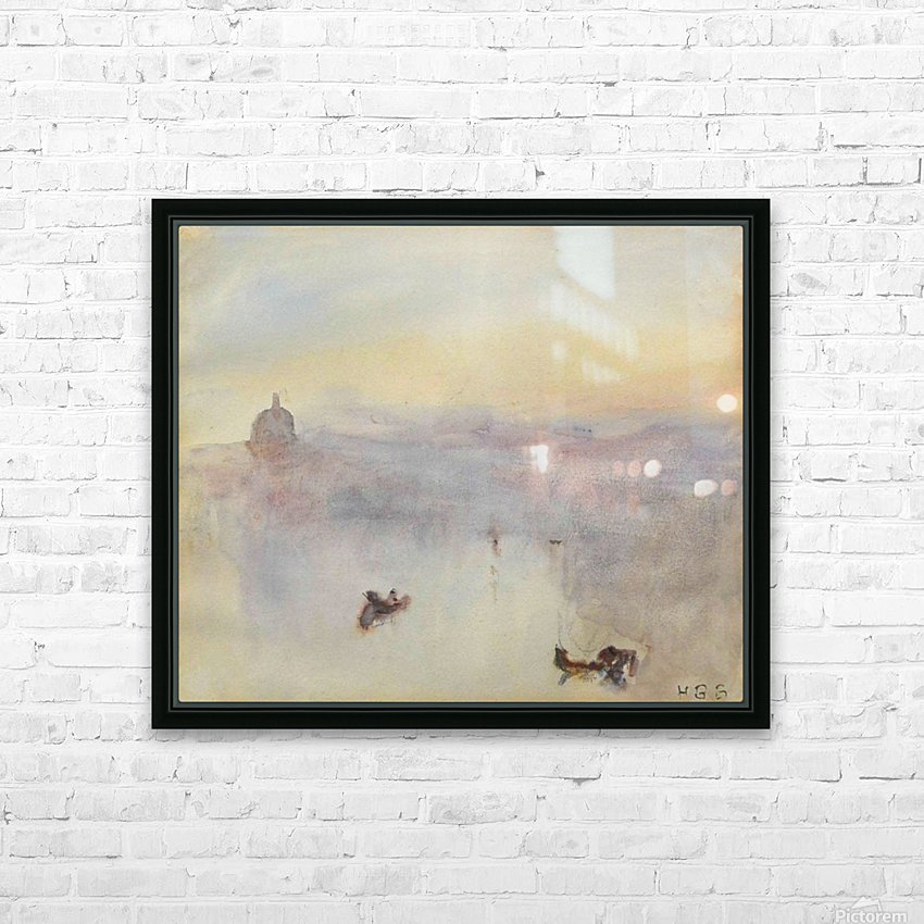 Venetian view HD Sublimation Metal print with Decorating Float Frame (BOX)