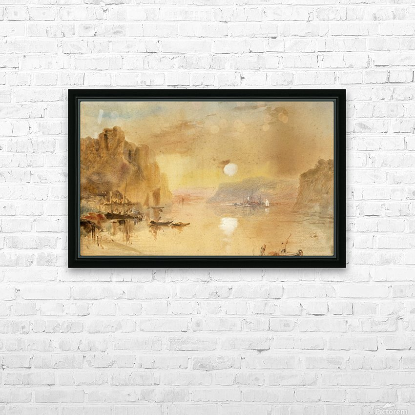 Nile River, Egypt HD Sublimation Metal print with Decorating Float Frame (BOX)