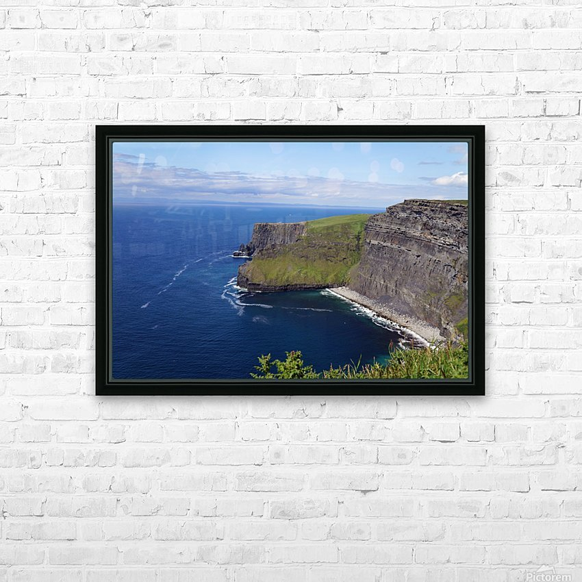 Cliffs of Moher, Ireland HD Sublimation Metal print with Decorating Float Frame (BOX)