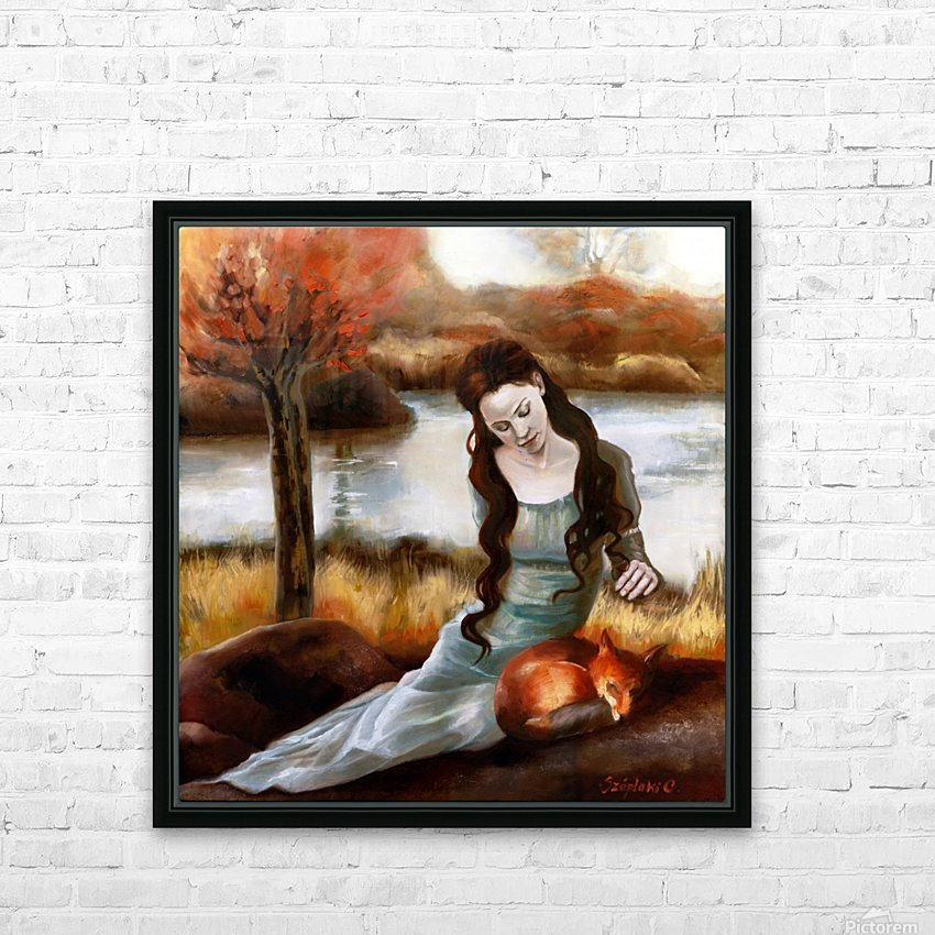 FoxFairy HD Sublimation Metal print with Decorating Float Frame (BOX)