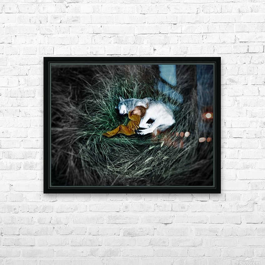 Unison with nature 2. HD Sublimation Metal print with Decorating Float Frame (BOX)