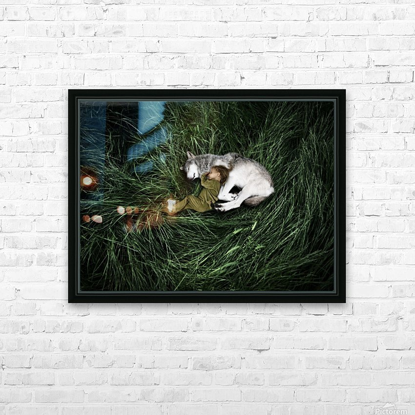 Unison with nature HD Sublimation Metal print with Decorating Float Frame (BOX)