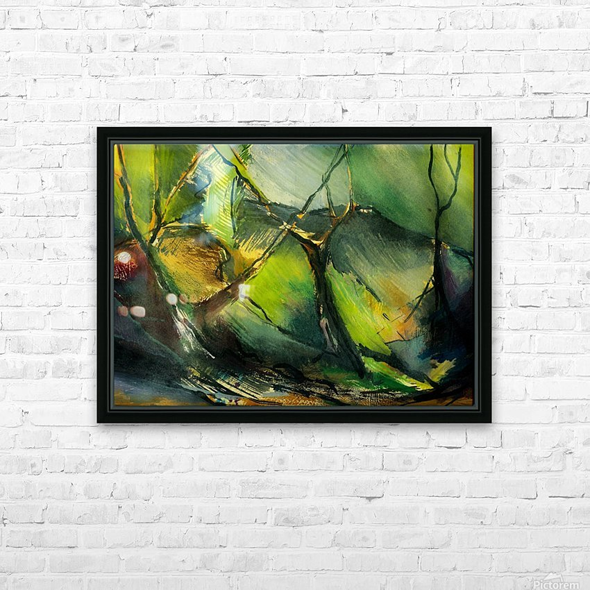 Inner landscape  HD Sublimation Metal print with Decorating Float Frame (BOX)