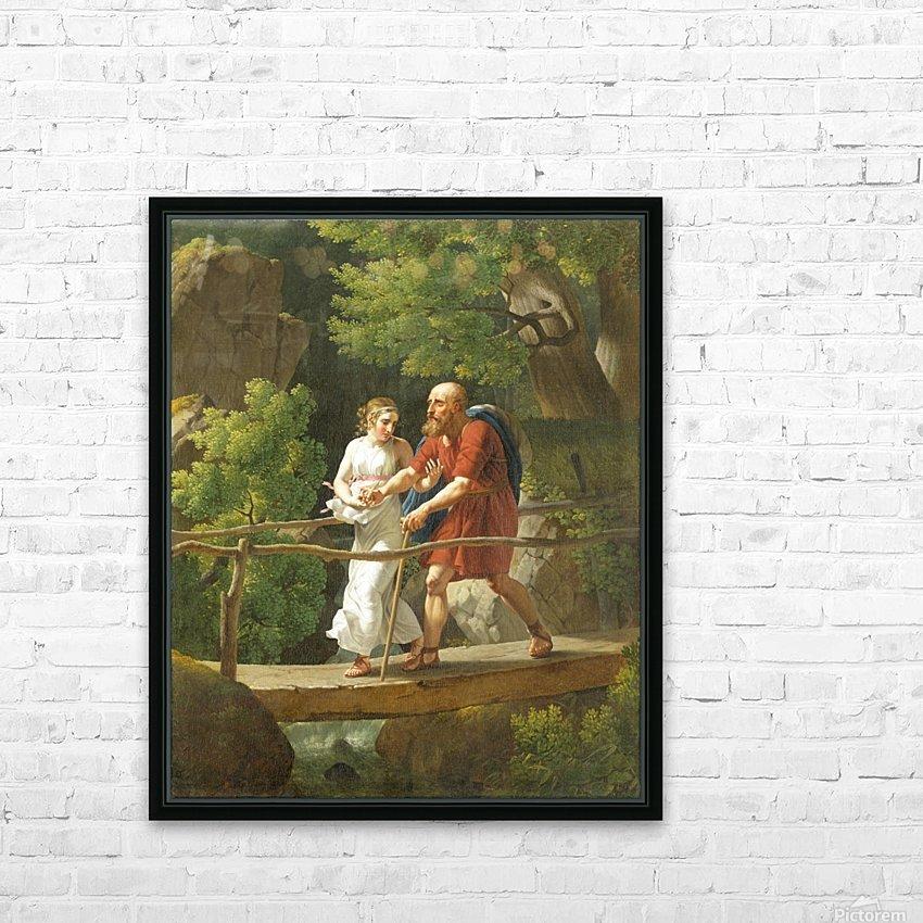 "copenhagen denmark vintage art print canvas or satin paper 28/"" x20/"" painting"