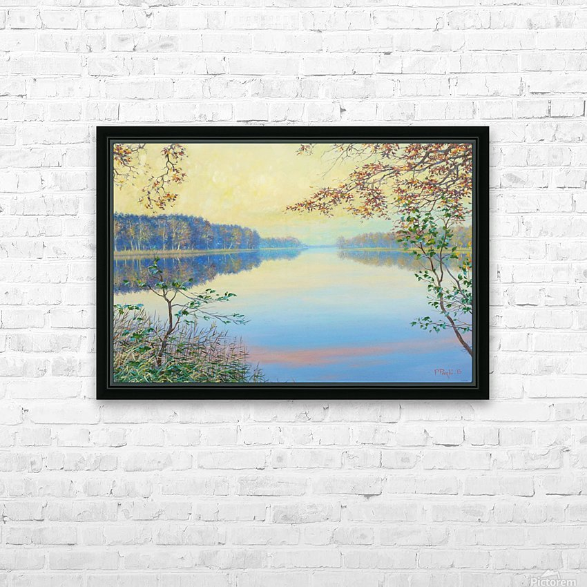 Smooth HD Sublimation Metal print with Decorating Float Frame (BOX)