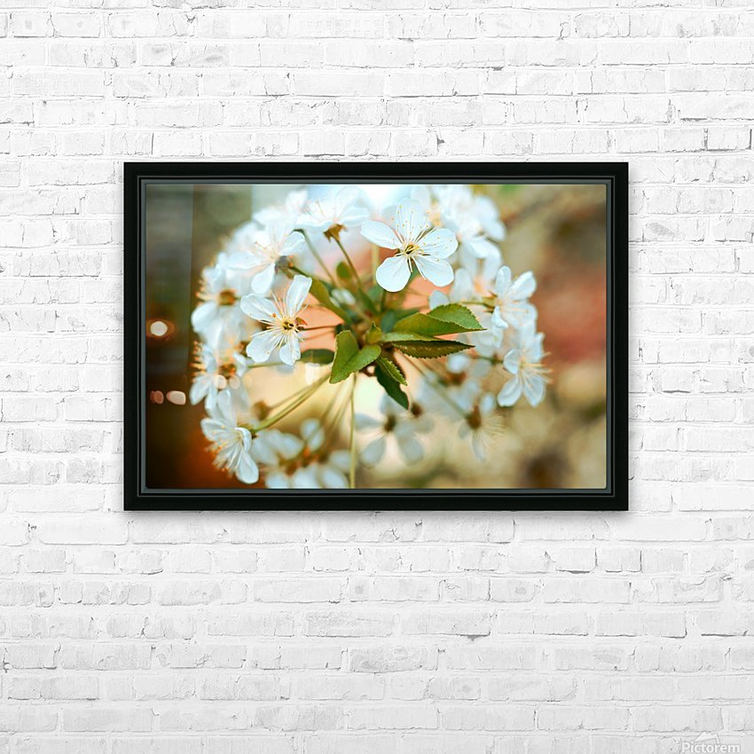 Spring hour HD Sublimation Metal print with Decorating Float Frame (BOX)