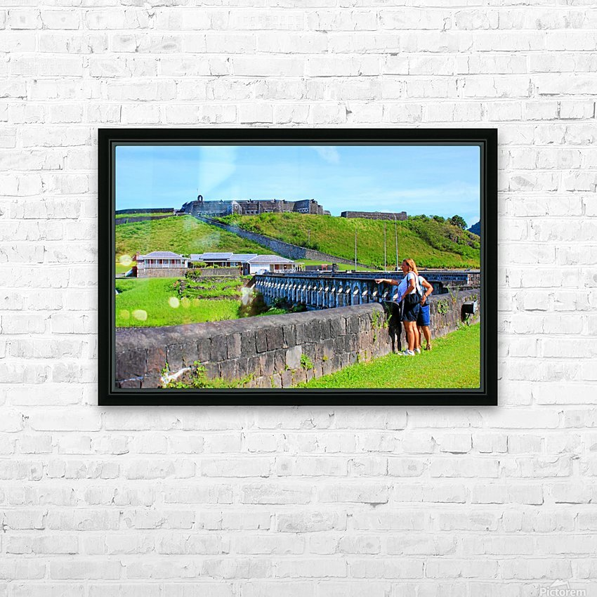 St Kitts Brimstone Hill 2 HD Sublimation Metal print with Decorating Float Frame (BOX)