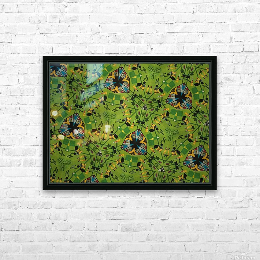 IMG_1695 HD Sublimation Metal print with Decorating Float Frame (BOX)