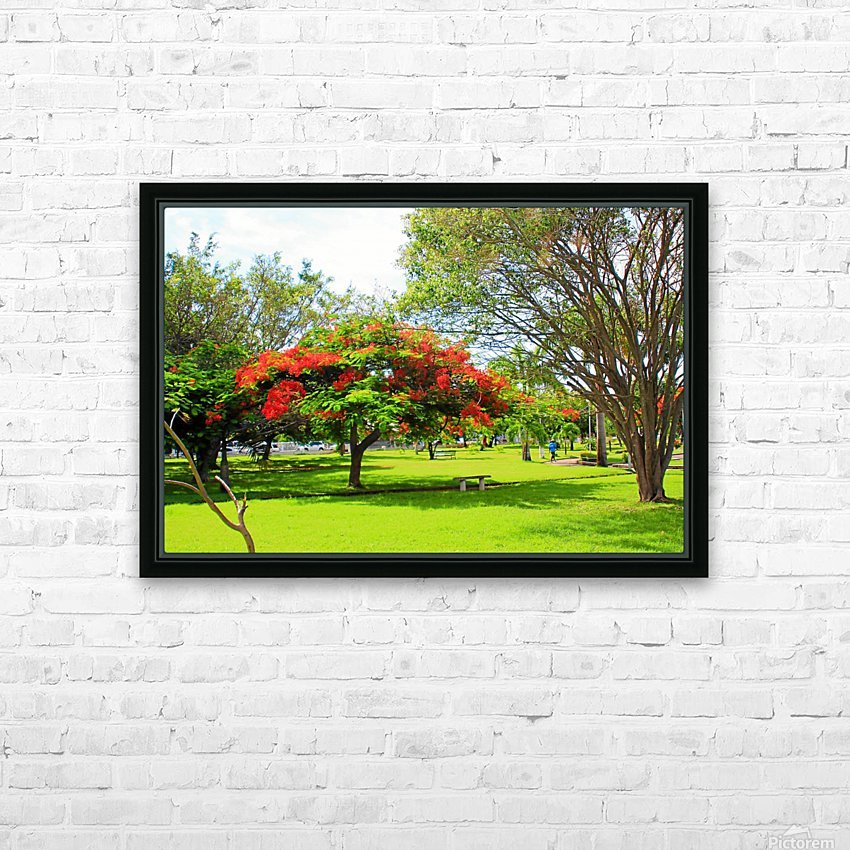 St Kitts Independence Square 6 HD Sublimation Metal print with Decorating Float Frame (BOX)