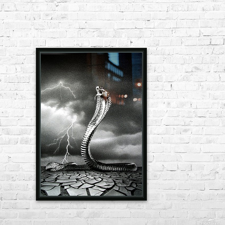 THE STORM IS COMING... HD Sublimation Metal print with Decorating Float Frame (BOX)