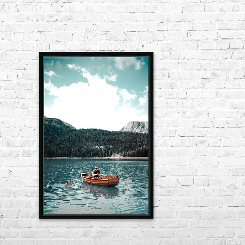 Lonely hour  HD Sublimation Metal print with Decorating Float Frame (BOX)