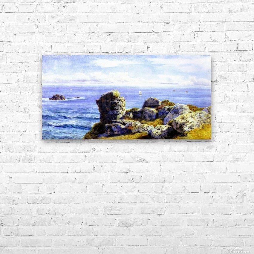 Porth Gwarra HD Sublimation Metal print with Decorating Float Frame (BOX)