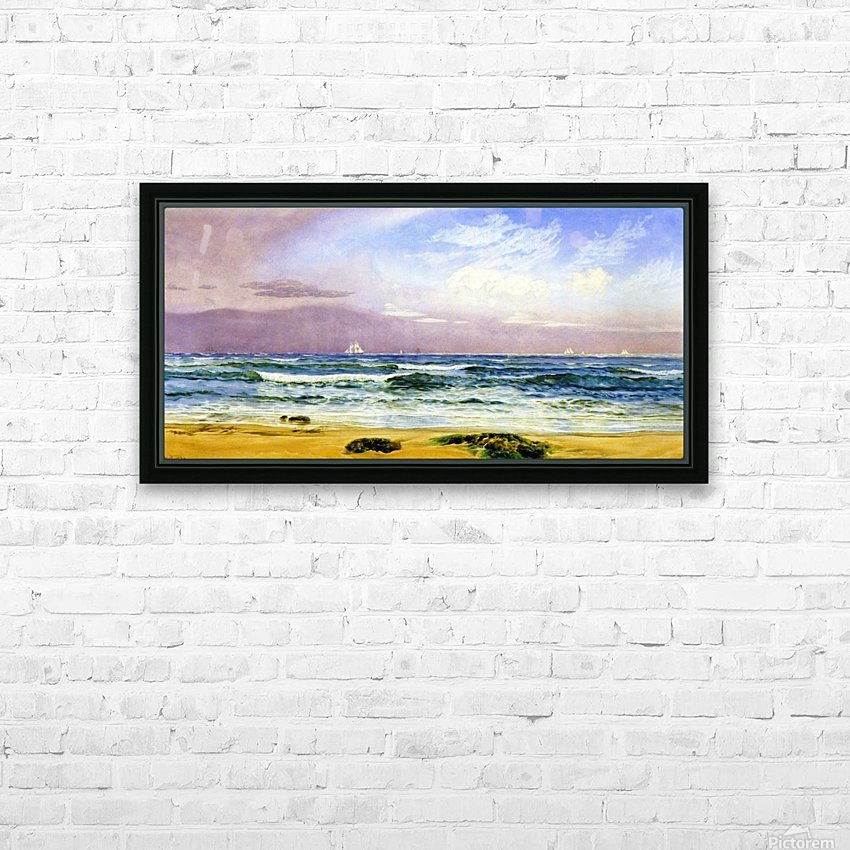 Shipping off the Coast HD Sublimation Metal print with Decorating Float Frame (BOX)