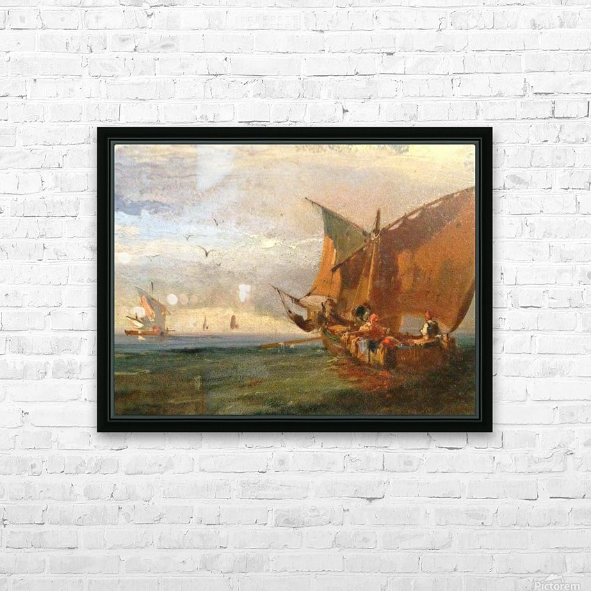 Italians Marine HD Sublimation Metal print with Decorating Float Frame (BOX)